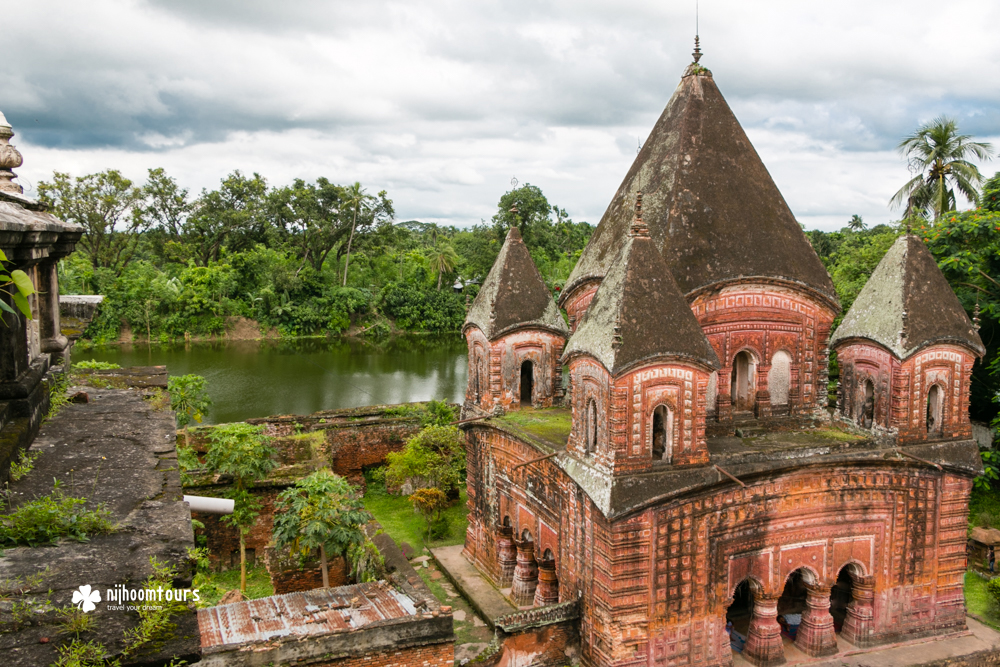 Pancharatna Gobinda Temple of Puthia in Bangladesh