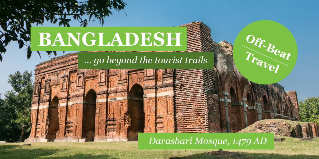 Darasbari Mosque: The third largest mosque of ancient Bengal capital