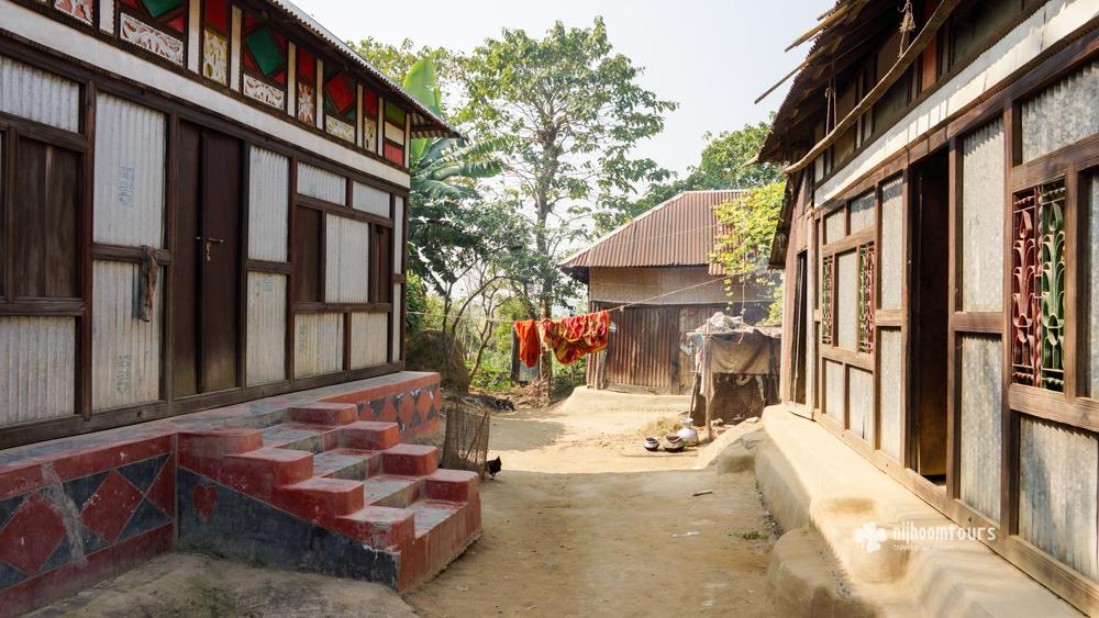 Photo of bangladesh a day on a river island near dhaka for Bangladeshi house image